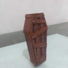 Picture of print of Halloween Coffin pot decoration Esta impresión fue cargada por Igor Antonio