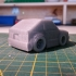 Toyota Corolla AE86 Drift Car print image