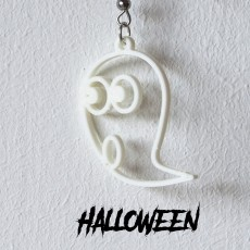 Earrings Halloween Ghost 1
