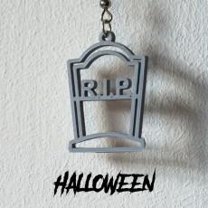 Earrings Halloween R.I.P. 1
