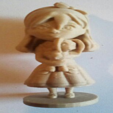 Picture of print of Chibi Alice
