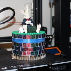 Picture of print of March Hare