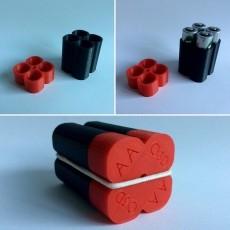 AA Battery Holder O3D
