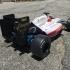 RS-01 Basic OpenRC F1 Hitec HS-77BB Servo, Diffuser, Tamiya F104 axle image