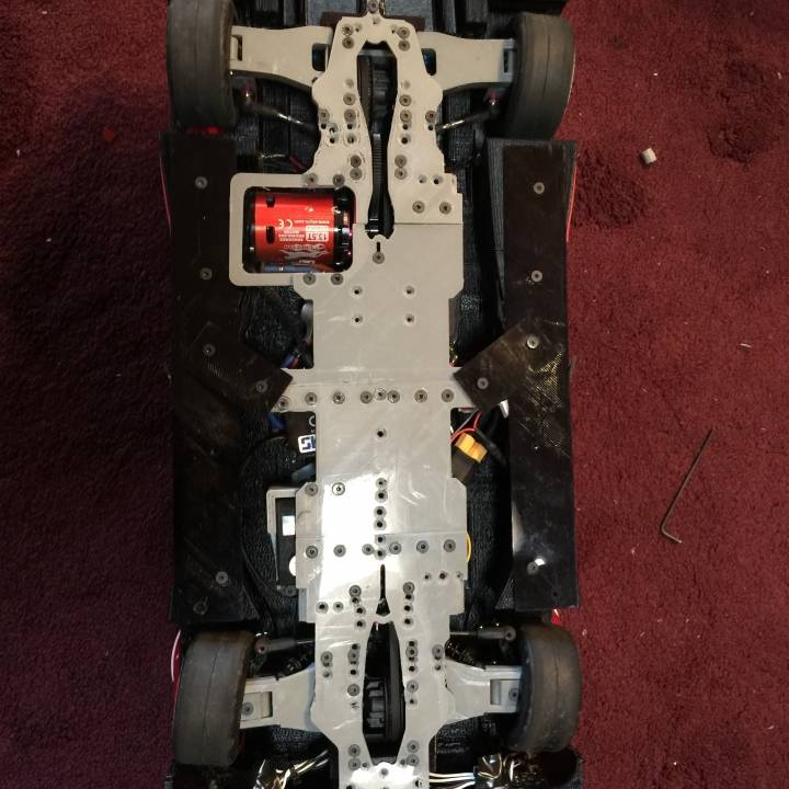 RS-LM Lemans RC Car Chassis