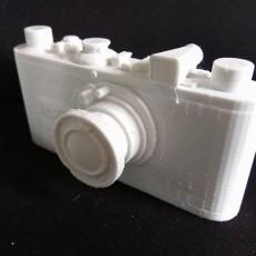 Leica Camera 3D Printable Prop