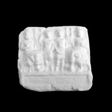 Bas-relief of Gods Bel, Ba'alsamin, Yarhibol and 'Aglibol