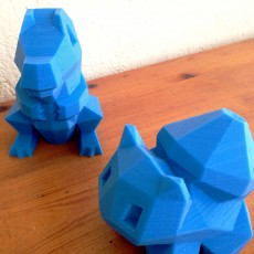 Picture of print of Low-Poly Bulbasaur - Multi and Dual Extrusion version