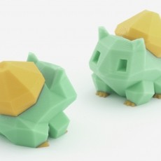 Low-Poly Bulbasaur - Multi and Dual Extrusion version