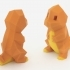 Low-Poly Charmander - Multi and Dual Extrusion version image