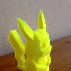 Picture of print of Low-Poly Pikachu - Multi and Dual Extrusion version