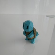 Picture of print of Low-Poly Squirtle - Multi and Dual Extrusion version Dieser Druck wurde hochgeladen von Amaury DEBRIAT