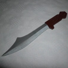 Picture of print of Assassin's Creed Throwing Knife