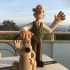Wallace and Gromit print image