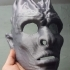 White Walker Mask & Mini Sculpture image