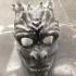 White Walker Mask & Mini Sculpture print image