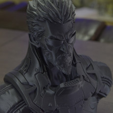 Picture of print of Deus Ex Mankind Divided Jensen Bust This print has been uploaded by Armando Elefante