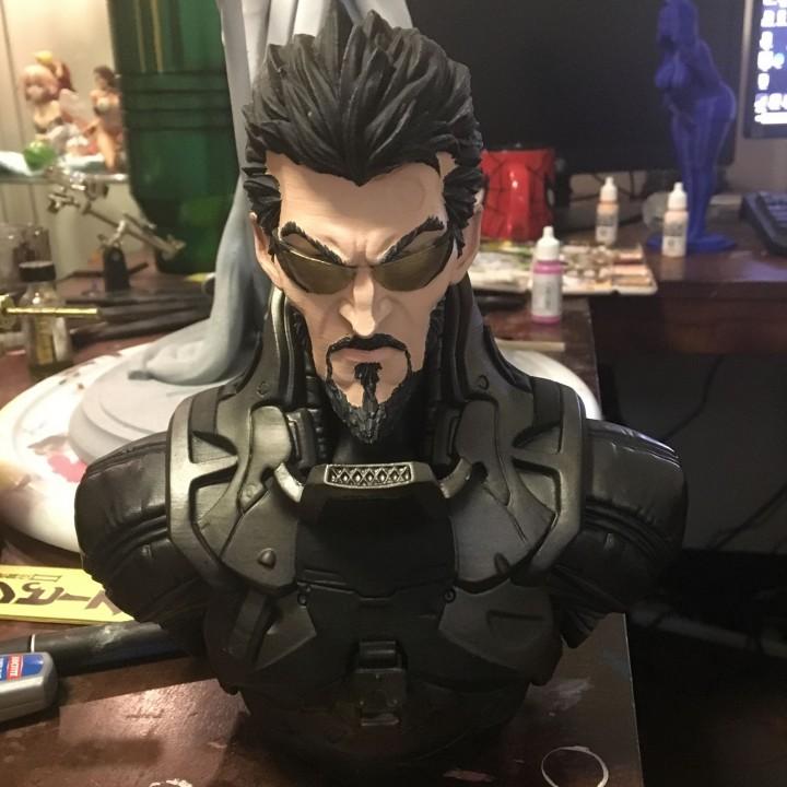 Deus Ex Mankind Divided Jensen Bust