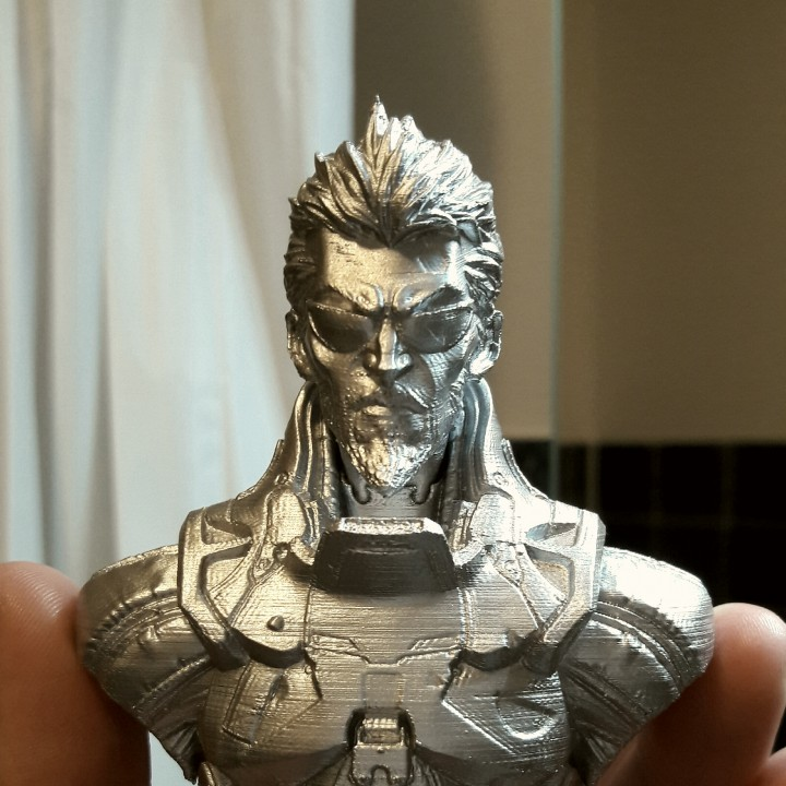Picture of print of Deus Ex Mankind Divided Jensen Bust This print has been uploaded by Kevin Anders