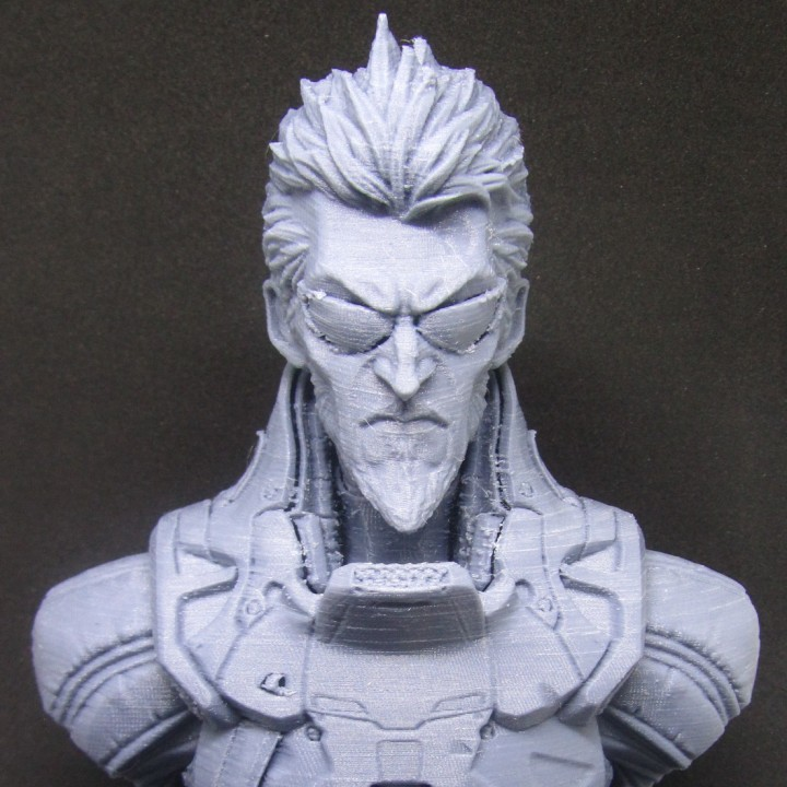 Picture of print of Deus Ex Mankind Divided Jensen Bust This print has been uploaded by Paulo Ricardo Blank