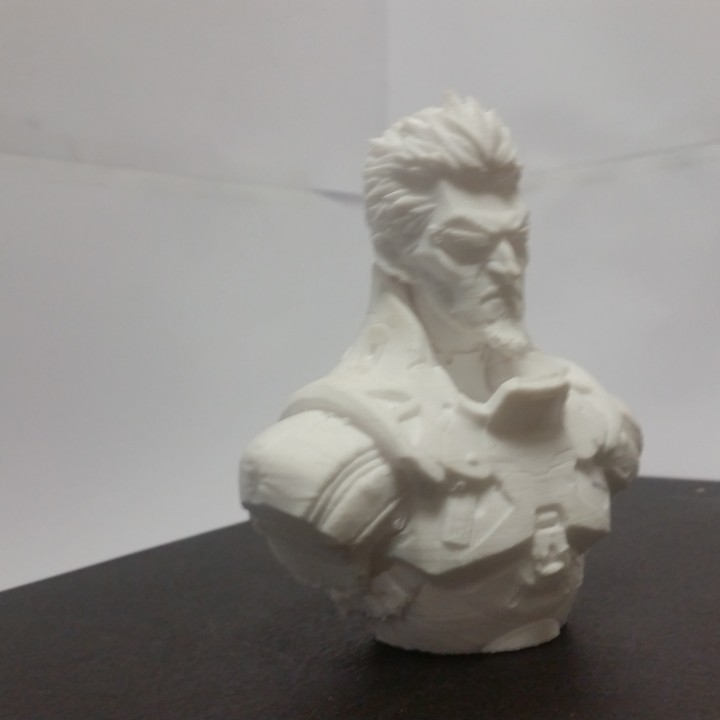 Picture of print of Deus Ex Mankind Divided Jensen Bust This print has been uploaded by anthonycarpenter