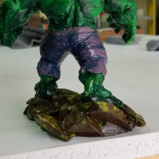 Picture of print of Low Poly Hulk 这个打印已上传 Kevin A Pierce