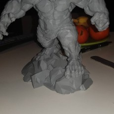 Picture of print of Low Poly Hulk This print has been uploaded by Trip Dorel