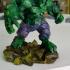 Low Poly Hulk print image