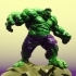 Low Poly Hulk image