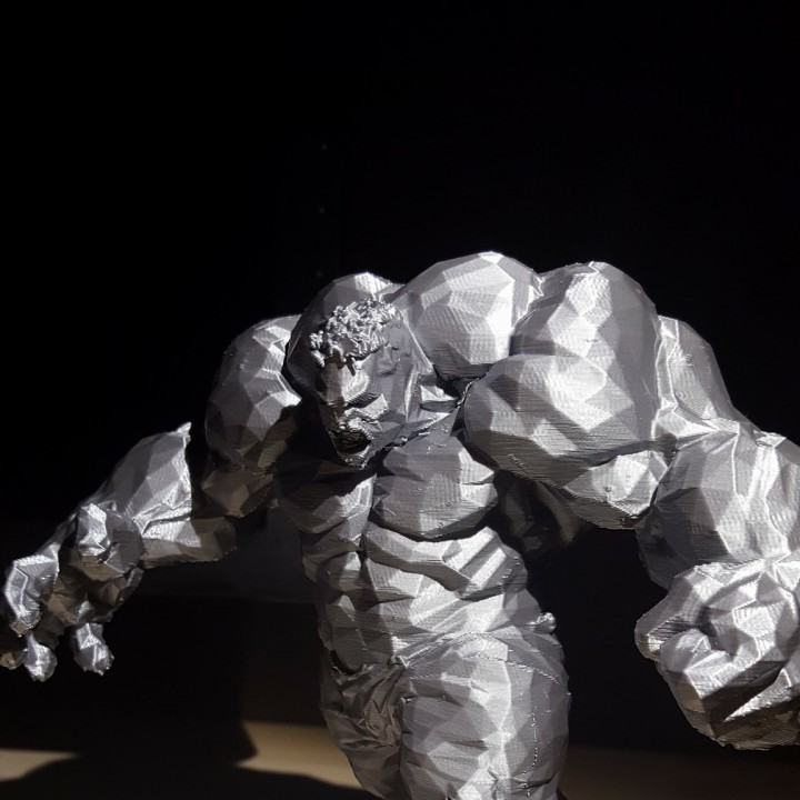 Picture of print of Low Poly Hulk This print has been uploaded by Enzo Bevivino