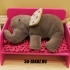 Bed for the elephant and chair for toddle image
