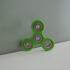 Knurled Tri-Spinner EDC Fidget Widget / Triple Bearing Spinner print image