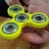 Knurled Tri-Spinner EDC Fidget Widget / Triple Bearing Spinner image