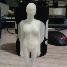 Picture of print of 3D body-scan (structured light) Esta impresión fue cargada por Kyle J