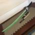 Genji's Dragon Blade (LED compatible) print image