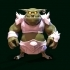 Mini Cartoon Orc Figure image