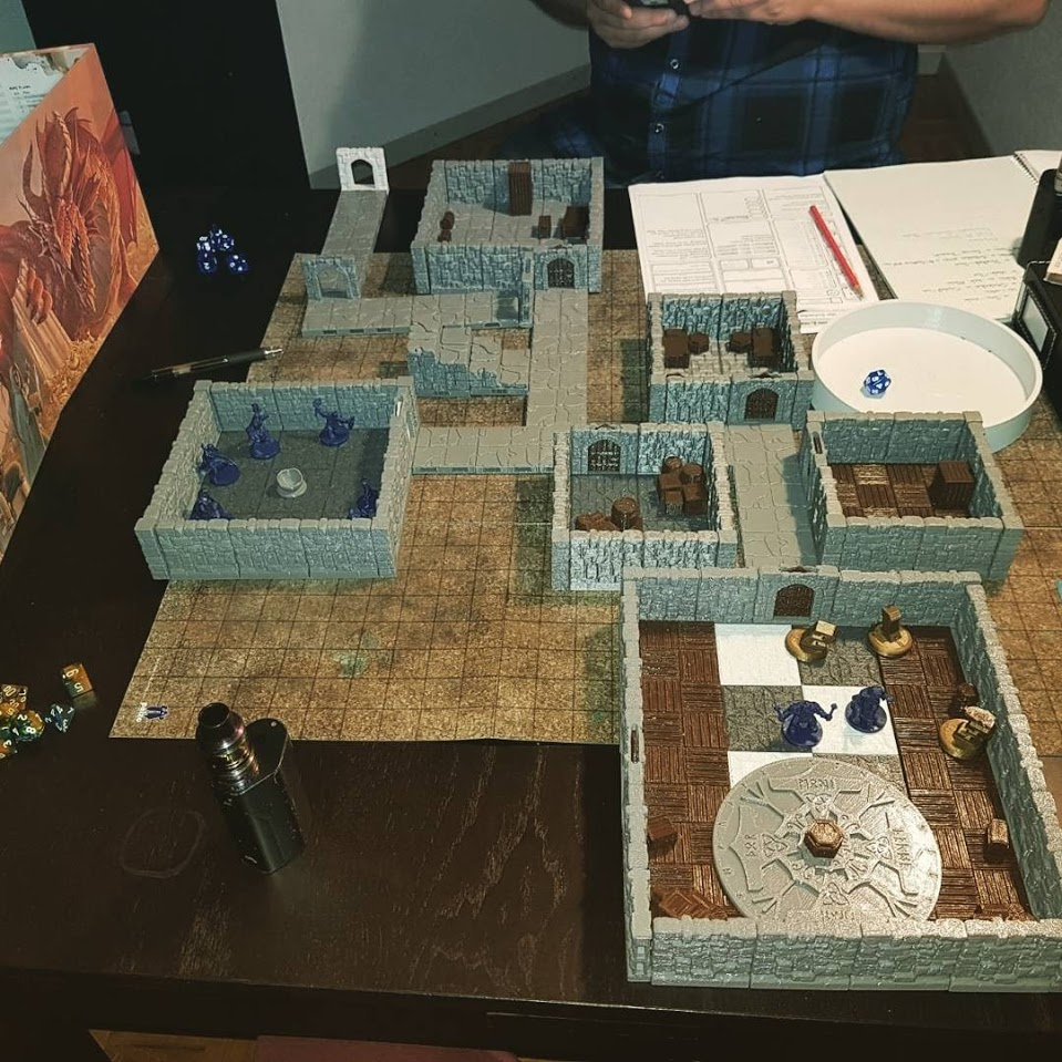 3D Printable Rampage System Tile Pack by Printable Scenery