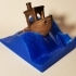 Wave stand for the #3DBenchy - The jolly 3D printing torture-test image