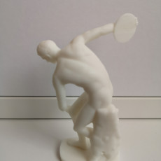 Picture of print of Discobolus (The Discus Thrower)