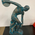 Discobolus (The Discus Thrower) print image