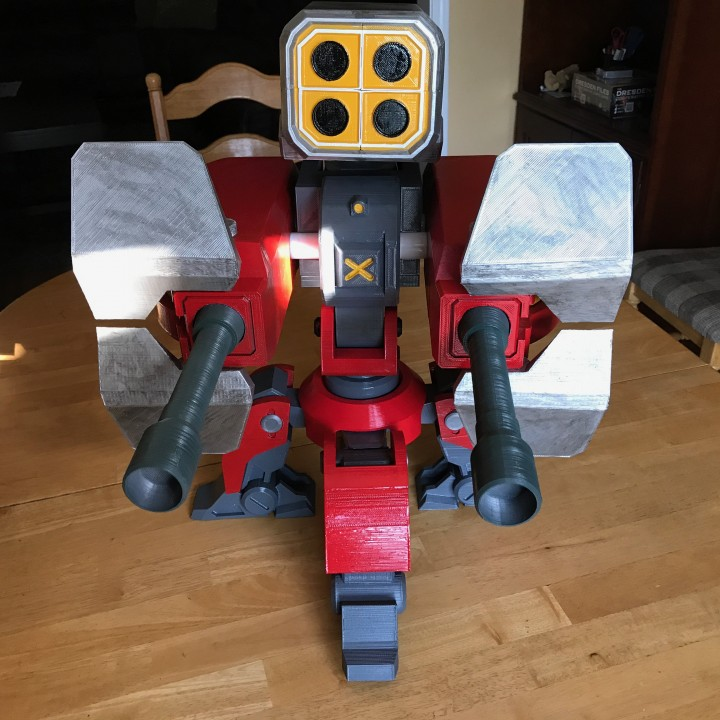 Missile Pod and Shield Upgrades for Torbjorn's Turret