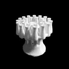Pottery multiple cluster vase (kernos)