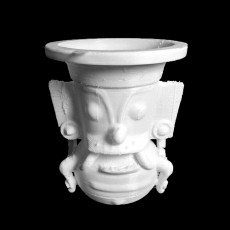 Pottery vessel representing the Storm God