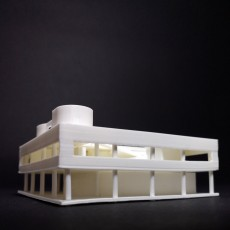 Picture of print of The Villa Savoye