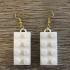 LEgo Earrings print image