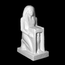 Kneeling Statue of Raia and Ptah