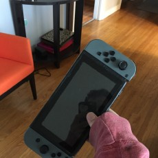 Picture of print of Nintendo Switch replica