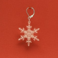 230x230 snowflake 2 red