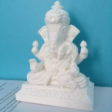 Picture of print of Lord Ganesh
