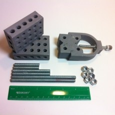1-2-3 Block & V-Block Jig Set